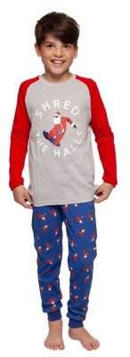 Dex Boy's Shred The Halls Two-Piece Pajama Set