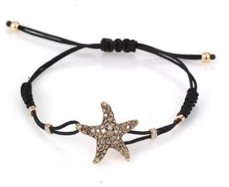 Pippo Perez 18k Rose Gold Diamond Starfish Bracelet