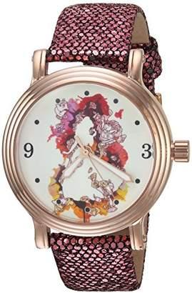 Disney Women's Princess Belle' Quartz Metal Casual Watch