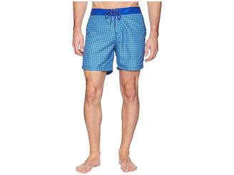 Mr.Swim Mr. Swim Circles Fixed Waist Printed Modern Boardshorts