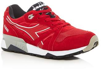 Diadora N9000 Nyl II Lace Up Sneakers $130 thestylecure.com