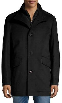 HUGO BOSS Classic Wool & Cashmere Coat