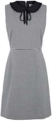Claudie Pierlot Dogtooth Check Dress