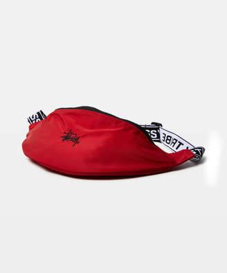 Stussy L.A Tribe Waist Bag - Red