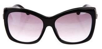 Swarovski Embellished Oversize Sunglasses
