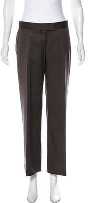 Stella McCartney Mid-Rise Wide-Leg Pants