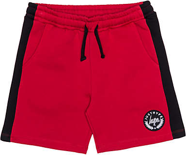 Boys' Crest Logo Shorts