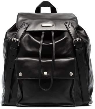 Saint Laurent buckle backpack