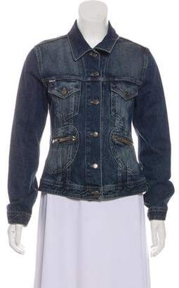 Burberry Denim Button-Up Jacket