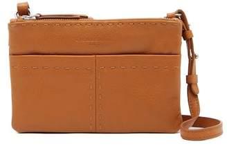 Liebeskind Berlin Greensboro Triple-Zip Leather Crossbody Bag
