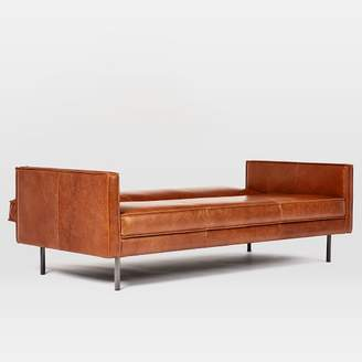 "west elm Axel Full Leather Futon (82.5"")"