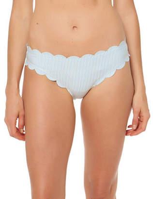 Jessica Simpson Scalloped-Edge Bikini Bottoms