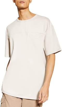 Topman Jet Oversize Pocket T-Shirt