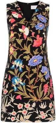 Peter Pilotto floral print V-neck mini dress