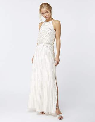 Monsoon Clara Embellished Bridal Maxi Dress