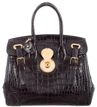 Ralph Lauren Alligator Ricky Bag $5,500 thestylecure.com