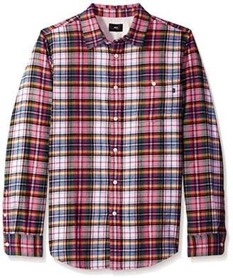 Obey Men's Lauder Long Sleeve Woven Shirt