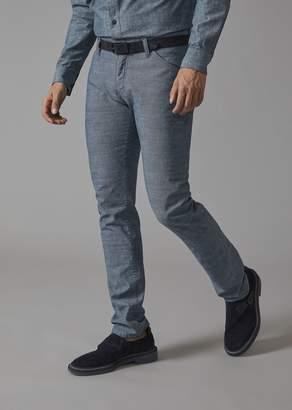 Giorgio Armani Jeans In Cotton Denim