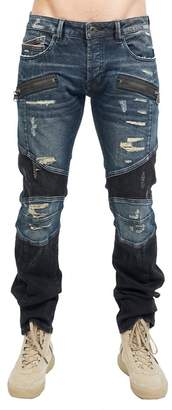 Cult of Individuality Greaser Moto Denim Jeans