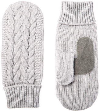 Isotoner Cold Weather Cable Mitten
