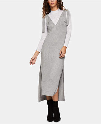 BCBGeneration Layered-Look Midi Dress