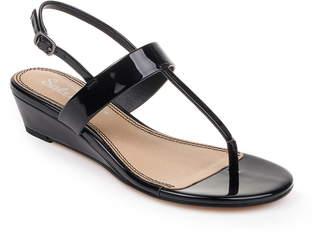 f7f9657223ca Splendid Black Strap Women s Sandals - ShopStyle