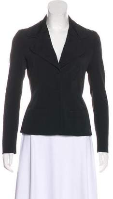 Prada Notch-Lapel Long Sleeve Blazer