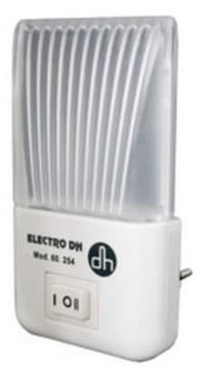 Electrodh ElectroDH-LED Night Light 1W 2Positions 2LED/5LED 230V Children Adults White Light