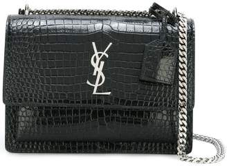 Saint Laurent Sunset monogram chain wallet