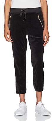 Juicy Couture Black Label Women's Velour Silverlake Sleek Fit Pant