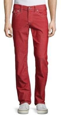 True Religion Flap-Pocket Straight-Fit Jeans