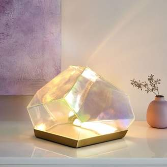 west elm Glass Gem LED Table Lamp