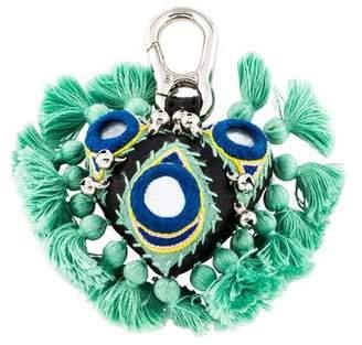 Barbara Bui Embellished Heart Keychain