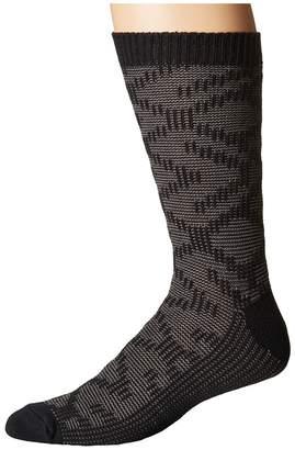 UGG Cotton Textured Crew Socks Men's Crew Cut Socks Shoes