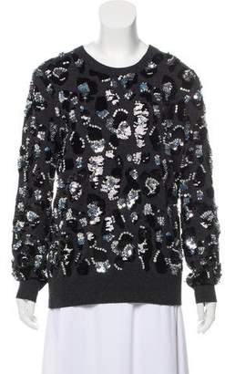 Michael Kors Cashmere Embellished Sweater w/ Tags