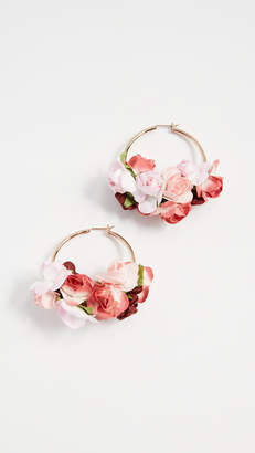 Shashi Ivy Hoop Earrings