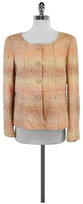 Albert Nipon Pink & Tan Jacket $98.99 thestylecure.com