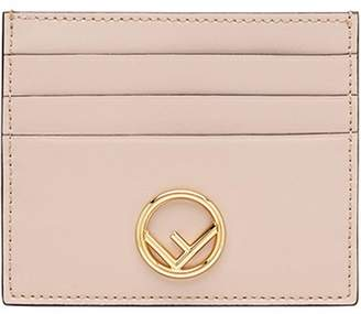 Fendi F slim card holder