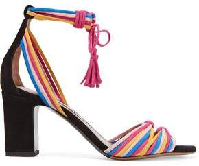 Tabitha Simmons Jamie Knotted Suede Sandals