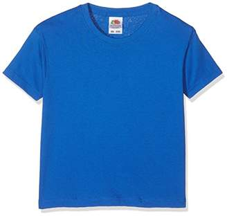 Fruit of the Loom Unisex Kids Valueweight Short Sleeve T-Shirt,7-8 Years (Manufacturer Size:30) - C