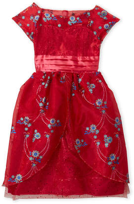 Disney Girls 4-6x) Elena of Avalor Royal Ball Gown