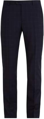 ÉDITIONS M.R Pleated-front Prince of Wales check wool trousers