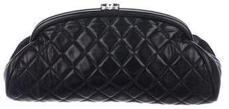 Chanel Quilted Lambskin Timeless Clutch