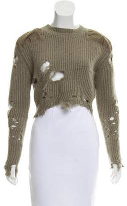 Yeezy Distressed Wool Sweater