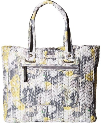 Steve Madden Bsportie Chevron Quilt Nylon Tote $78 thestylecure.com