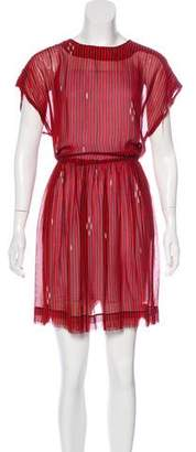 Etoile Isabel Marant Striped Knee-Length Dress