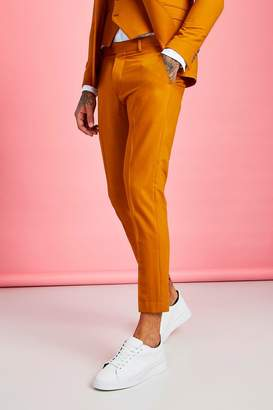 boohoo Skinny Fit Plain Cropped Trouser