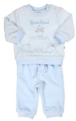 Kanz Unisex baby Set 2Tlg. T-Shirt 1/1 Arm Und Hose 0003255 Plain Long Sleeve Pyjama Set,(Manufacturer size: 68)