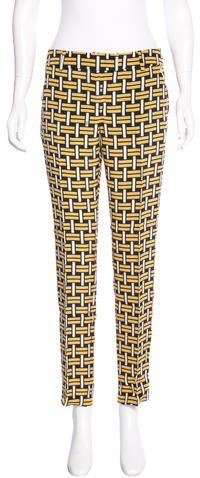 Fendi Silk Printed Pants w/ Tags