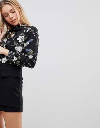 Girls On Film Floral Shirt